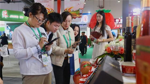 遼寧400余種優質特色農産品亮相第十七屆中國國際農産品交易會