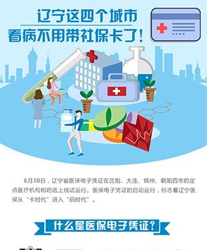 遼寧這四個城市看病不用帶社保卡了!