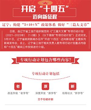 """遼寧:構建""""3+10+N""""政策體係 做好""""三篇大文章"""""""