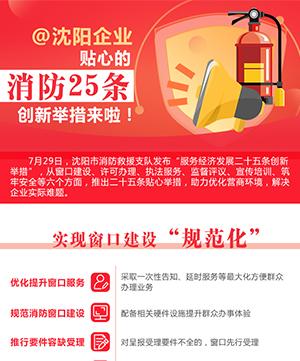 @沈陽企業 貼心的消防25條創新舉措來啦!